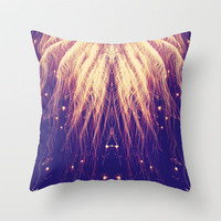 Fire Hair Throw Pillow by Josrick | Society6