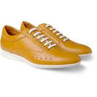 John Lobb Aston Martin Leather Sneakers | MR PORTER