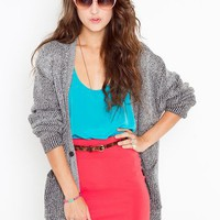 Portland Racerback Tank - Turquoise in  Clothes Tops at Nasty Gal