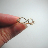 Infinity Ring by MaesDesigns on Etsy