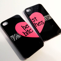 Best Bitches iPhone 4 cases - Black/Zebra