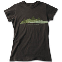 Women&#x27;s Ruff Wear Adventure T-Shirt The Mountain is my Dogpark