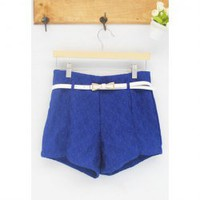High-Waisted Lace Shorts -more colors