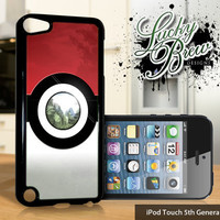 NEW iPod Touch 5 Case - Funny Pokemon Pokeball - 5 Gen Cover GEN5