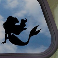 Amazon.com: Disney Black Decal Little Mermaid Ariel Window Sticker: Home & Kitchen