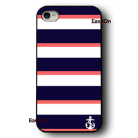 Anchor iPhone 4 case iPhone 4s case iPhone 5 case Hard plastic case Rubber case