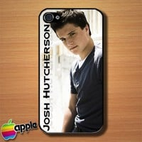 Josh Hutcherson Cool Men Custom iPhone 4 or 4S Case Cover