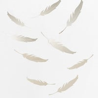 Urban Outfitters - Mirrored Quill Wall Decal - Set Of 9