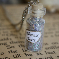 Harry Potter Potion - Phoenix Tears Vial Necklace