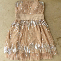 Champagne Fizz Party Dress [3595] - $41.60 : Vintage Inspired Clothing & Affordable Fall Frocks, deloom | Modern. Vintage. Crafted.