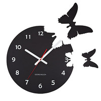 BUTTERFLIES POP OUT CLOCK