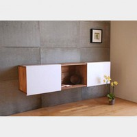 3X Wall-Mounted Shelf - Storage - Living