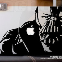 Bane - LIMITED EDITION macbook decal / sticker ( for 11&quot; 13&quot; 15&quot; 17&quot;  or any Laptop) K025