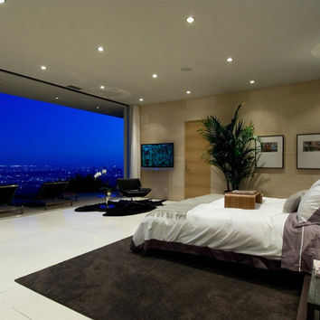 awe-inspiring bedroom view