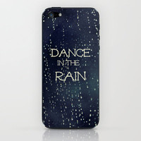 Dance in the Rain iPhone & iPod Skin by Caleb Troy | Society6