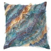 One Kings Lane - Pillows & Throws - Debage Breeze Pillow, Blue