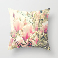 Dream Whisperers Throw Pillow by Lisa Argyropoulos | Society6