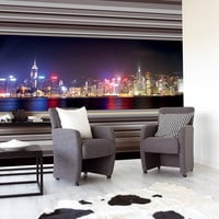 Bright Lights Big City wall art from Nono