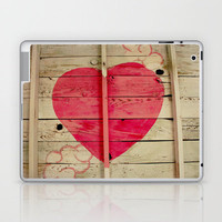 Pink Heart Graffiti  Laptop & iPad Skin by Shy Photog | Society6
