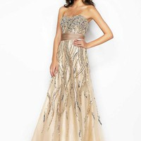 Blush 9567 at Prom Dress Shop