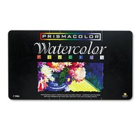 Prismacolor 4066 Prismacolor Professional Quality Watercolor Pencil, 36 Assorted Colors/Set