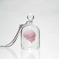 Brain in a Jar Necklace