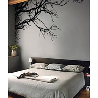 "Stickerbrand Vinyl Wall Decal Sticker Tree Top Branches (M) 100"" W X 44"" H"