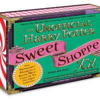 The Unofficial Harry Potter Sweet Shoppe Kit: From Peppermint Humbugs to Sugar Mice - Conjure Up Your Own Magical Confections Hardcover – June 18, 2011