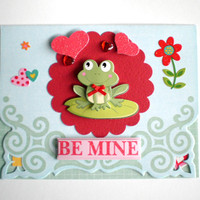 Valentine Card - Be Mine
