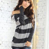 Latest Juniors Black Hollow Out Blouses : Wholesaleclothing4u.com