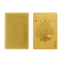 Gold Playing Card Set