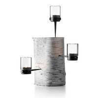 Pipe Hurrican Tealight Holder