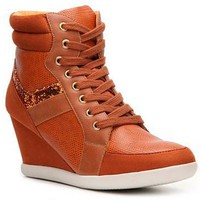 Rebels Glam Glitter Wedge Sneaker