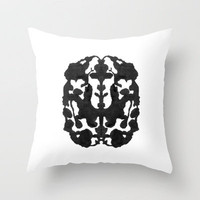 Think Throw Pillow by Revital Naumovsky | Society6
