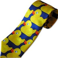 Amazon.com: Pop Tease Duck Necktie as seen on How I Met Your Mother Barney's Ducky Tie ,: Clothing