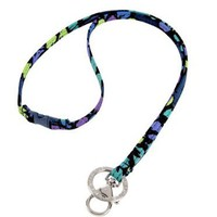 Amazon.com: Vera Bradley Breakaway Lanyard in Indigo Pop: Clothing