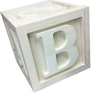 BIG Wooden Block 14&quot;x14&quot;x14&quot; Photo Props Kids Bedroom Playroom Nursery