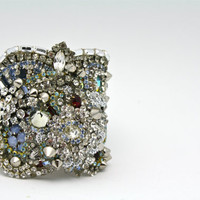 Doloris Petunia One of a Kind Custom Cuff by DolorisPetunia