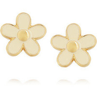 Marc by Marc Jacobs | Enameled daisy earrings | NET-A-PORTER.COM