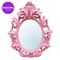Bubblegum Pink Mirror  |  Mirrors  |  Mirrors & Screens  |  French Bedroom Company