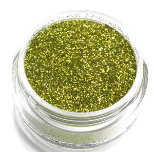 Lime Green Glitter by CALLACosmetics on Etsy
