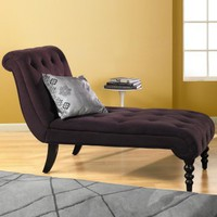 Avenue Six Curves Tufted Chaise Lounge - Chaise Lounges at Hayneedle