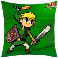 Legend of Zelda: Minish Cap Link 15-inch Pillow