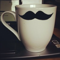 Mustache Mug