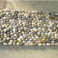 Multi-Color River Stone Mat - VivaTerra