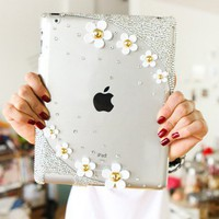 Ipad Case Bling Flower Crystal Ipad.. on Luulla