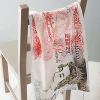 bank note tea towel by ella james | notonthehighstreet.com