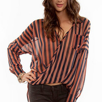 Tawnie Twist Blouse $37