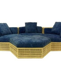 One Kings Lane - Outdoor Picks - Sectional With Ottoman