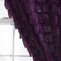 Urban Outfitters - Waterfall Ruffle Curtain
